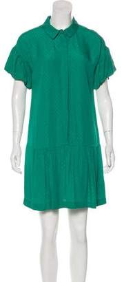 Pinko Short Sleeve Mini Dress