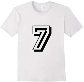 Number 7 Sports. Jersey T-shirt My Favorite Player