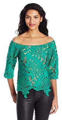 Tracy Reese Women's Off-Shoulder Top