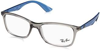 Ray-Ban Women's 0RX 7047 5769 Optical Frames, (Transparente Grey)