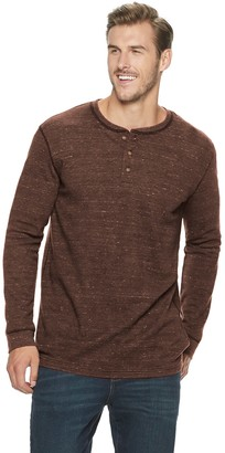Sonoma Goods For Life Big & Tall SONOMA Goods for Life Supersoft Modern-Fit Thermal Henley
