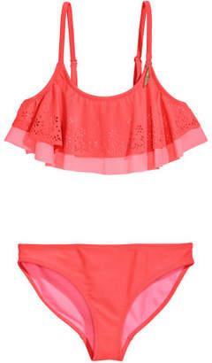 H&M Bikini with Flounced Top - Pink
