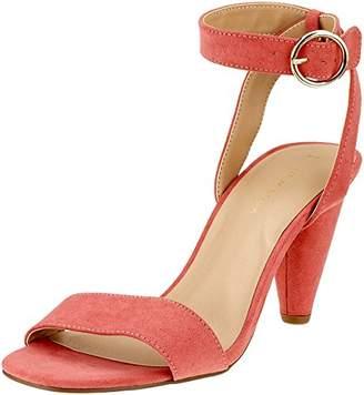 New Look Women's Wolfy 5718519 Open Toe Sandals (Bright Pink 76), 37 EU