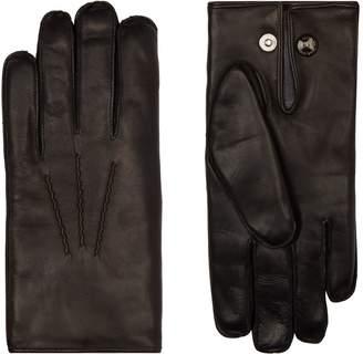 Dents Fur Lined Leather Gloves