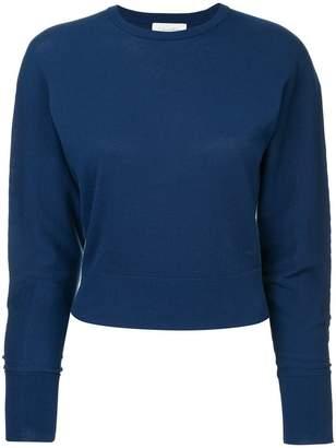 CK Calvin Klein high twist knitted jumper