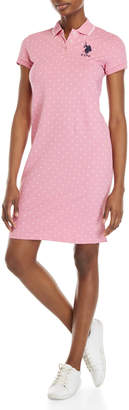 U.S. Polo Assn. Polka Dot Polo Dress
