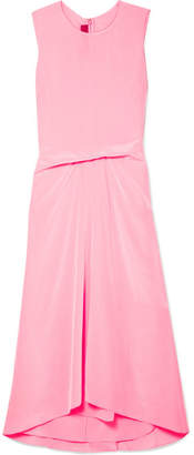 DAY Birger et Mikkelsen Sies Marjan - Lottie Pick Up Silk Crepe De Chine Midi Dress - Pink