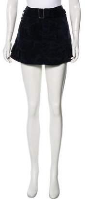 Marc Jacobs Camo Mini Skirt