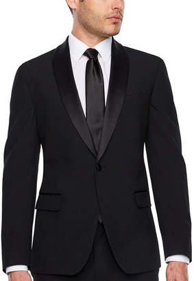 Jf J.Ferrar Super Slim Fit Tuxedo Jacket - Slim