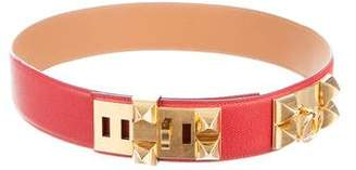 Hermes Collier De Chien Waist Belt