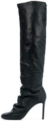 Nicholas Kirkwood D Arcy High Boot in Black Leather