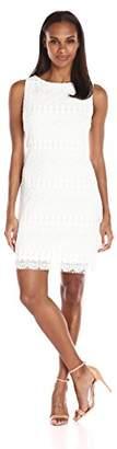 Tiana B Women's Scallop/Eyelash Lace Sheath Dress