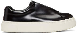 Eytys Black Leather Doja Sneakers