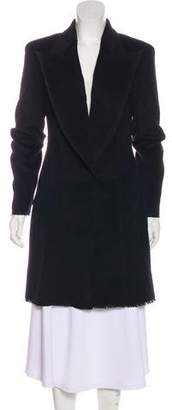 CNC Costume National Angora & Wool-Blend Coat
