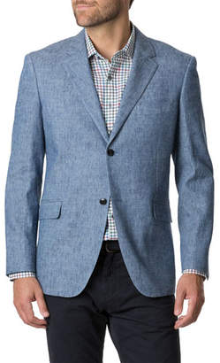 Rodd & Gunn Men's Napier South Cotton-Linen Sport Jacket