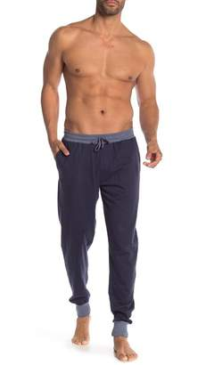 Unsimply Stitched Contrasted Cuffed Lounge Pants