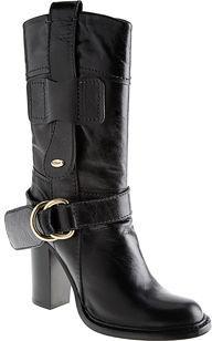 Chloe Mid Boot- Black