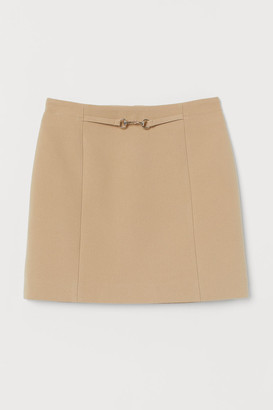 H&M Short Skirt - Beige