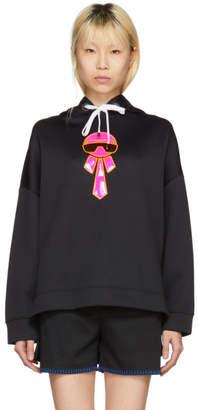 Fendi Black Neon Karlito Hoodie