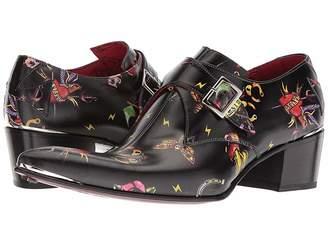 Jeffery West Ink Double Monk Shoe