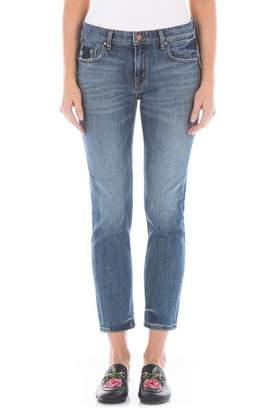 Fidelity Dee Dee Distressed Crop Jeans