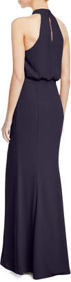 LIKELY Cameron Blouson Halter Gown