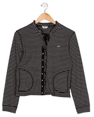Sonia Rykiel Girls' Striped Knit Cardigan