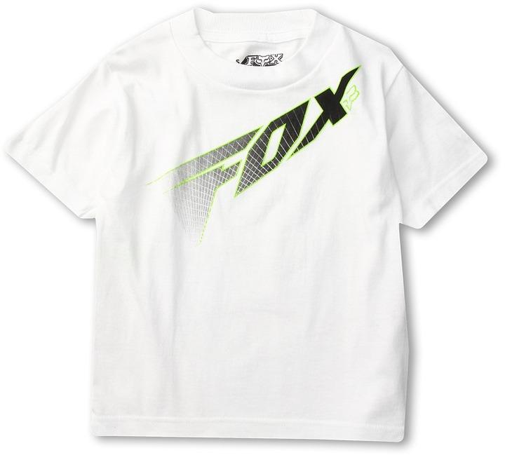 Fox Redcard S/S Tee (Little Kids) (White) - Apparel