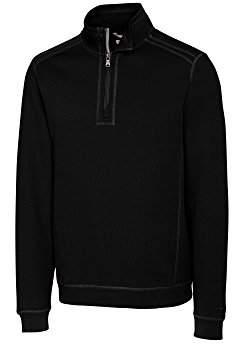 Cutter & Buck Men's Bayview Half-Zip 100% Cotton Pullover