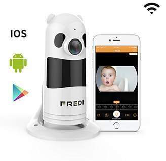 FREDI Baby Monitor Wireless WIFI IP Surveillance Camera 1080P HD Security Wireless Camera With Two-Way Talking