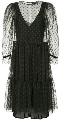 Ginger & Smart Amity dotted sheer dress