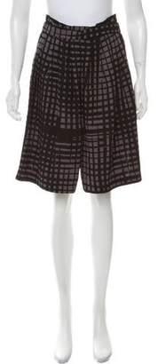 Vionnet Printed Knee-Length Skirt