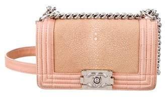 Chanel Small Galuchat Boy Bag