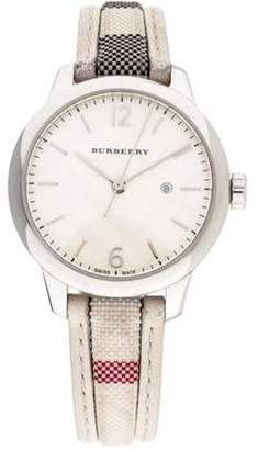 Burberry The Classic Round Watch silver The Classic Round Watch