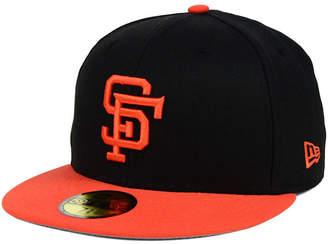 New Era San Francisco Giants Mlb Cooperstown 59FIFTY Cap