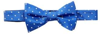 Tommy Hilfiger Preppy Dot Silk Bow Tie