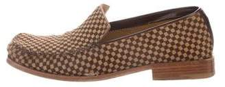 Louis Vuitton Ponyhair Damier Loafers