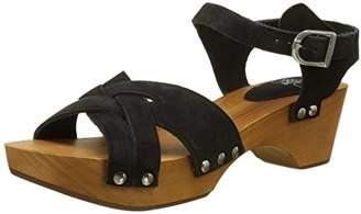 Womens Kota_Black Ankle Strap Sandals Le Temps Des Cerises jZtnq36GLK