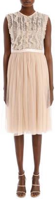 Needle & Thread Jet Frill Bodice Dress DR0041AW17