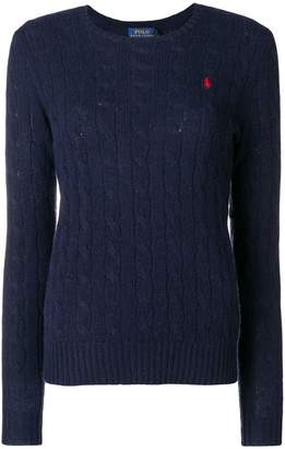 Polo Ralph Lauren classic cable-knit sweater