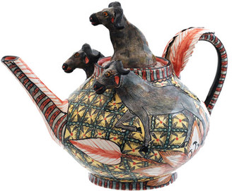 Buffalo David Bitton Ardmore Ceramic Art The Teapot