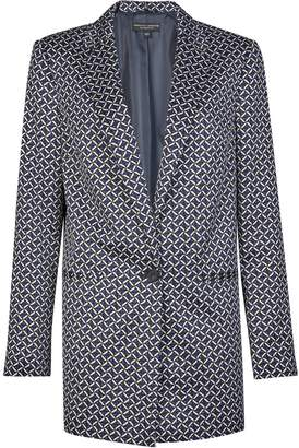 Dorothy Perkins Womens Multi Colour Geometric Print Blazer