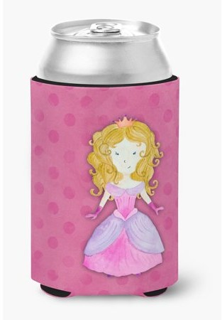 Caroline's Treasures Princess Watercolor Can or Bottle Hugger