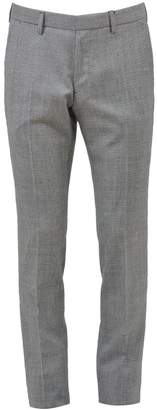 Calvin Klein Grey Virgin Wool Chinos