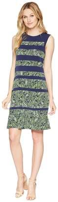 MICHAEL Michael Kors Paisely Paneled Sleeveless Dress Women's Dress