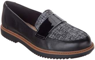 Clarks Leather Slip-On Loafers - Raisie Arlie