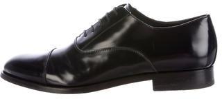 Antonio MauriziAntonio Maurizi Leather Lace-Up Oxfords