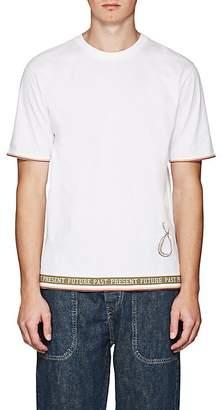 "Loewe Men's ""Future Past Present"" Logo Graphic T-Shirt"