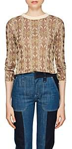 Chloé Women's Jacquard-Knit Sweater-Brown Multi
