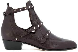 Jimmy Choo Harley 30 cut out booties